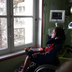 2011 lors d'une hospitalisation