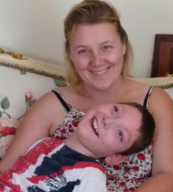Eté 2015 avec maman
