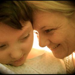 Alexis 10 ans et sa maman