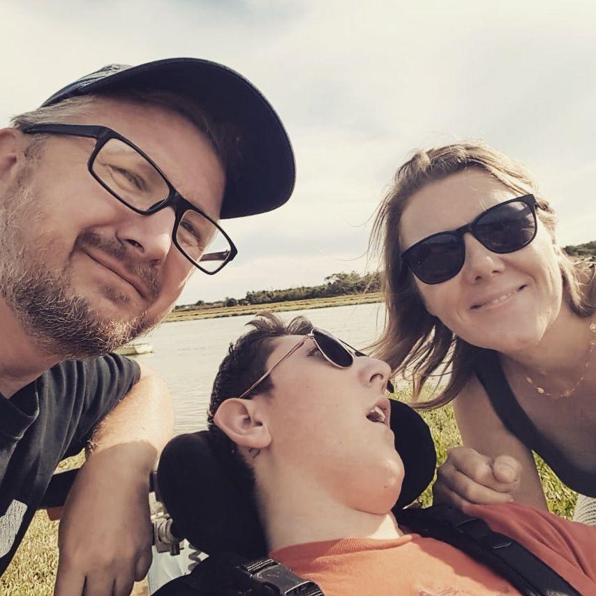 Alexis et ses parents 2020
